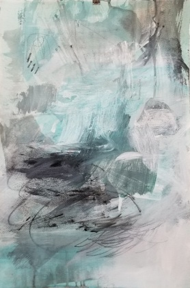 Caught In A Wave III/22x15in.paper/$370.00