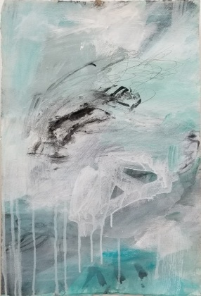 Caught In A Wave IV/22x15in.paper/$370.00