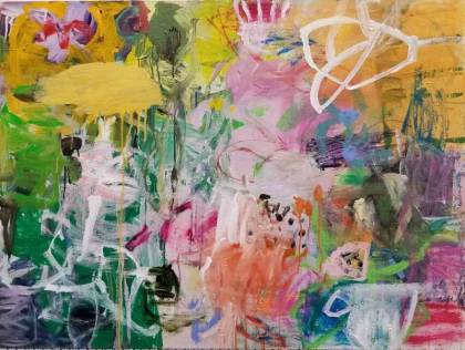 Blooming Passion/48x36 in.