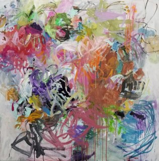 Flowers Are Tethered Butterflies/48x48 / $4000.00
